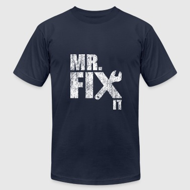 Mr Fix IT - Mister Fix It Apparel - Men's Fine Jersey T-Shirt