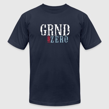 ground zero_vec_3 us - Men's Fine Jersey T-Shirt