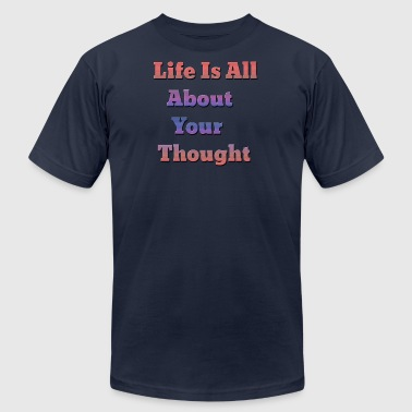 life is all - Men's Fine Jersey T-Shirt