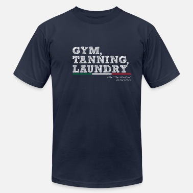 Tanning Gym, Tanning, Laundry - Men's Jersey T-Shirt
