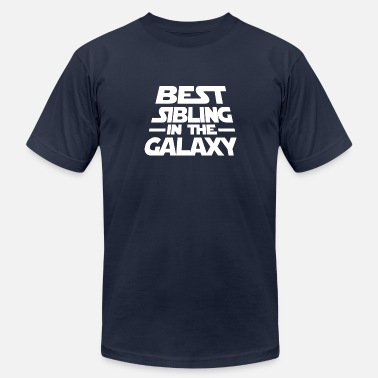 Siblings Best Best Sibling In The Galaxy Tee - Men's Fine Jersey T-Shirt