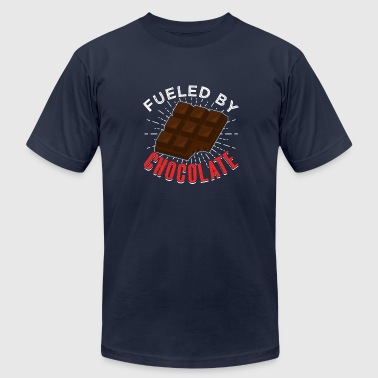 Fueled By Chocolate - Men's Fine Jersey T-Shirt