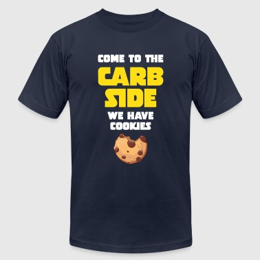 Come To The Carb Side - We Have Cookies - Men's Fine Jersey T-Shirt