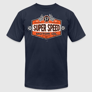Super_Speed_Oil - Men's Fine Jersey T-Shirt