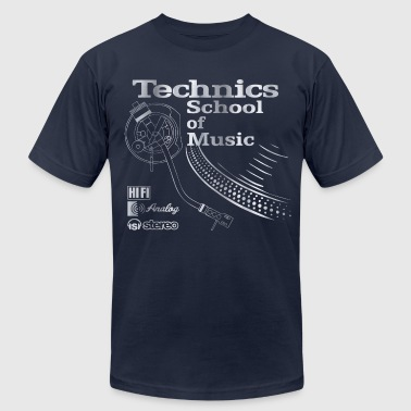 old school technics - Men's Fine Jersey T-Shirt