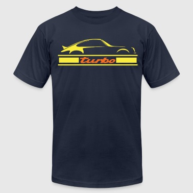 turbo air cooled engine - Men's Fine Jersey T-Shirt