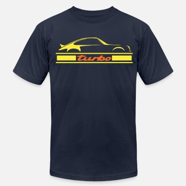 Supercar turbo air cooled engine - Men's Fine Jersey T-Shirt