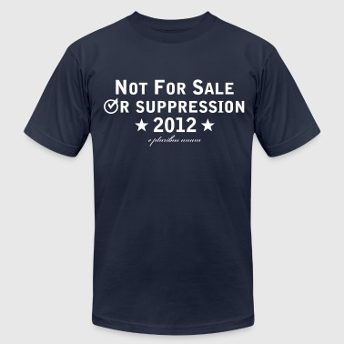 Voter Suppression - Men's Fine Jersey T-Shirt
