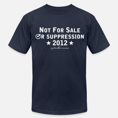 Voter Suppression - Men's  Jersey T-Shirt