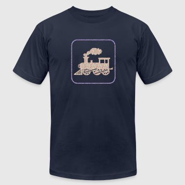 A CHOO CHOO TRAIN - Men's Fine Jersey T-Shirt