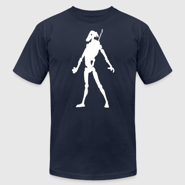 battle droid - Men's Fine Jersey T-Shirt