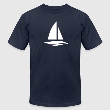 Yachting Boat yachting - Men's Fine Jersey T-Shirt