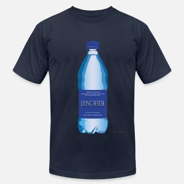 Sparkling Water Living Water - Men's  Jersey T-Shirt