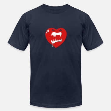 The Killer Tomatoes Killer Heart - Men's Fine Jersey T-Shirt