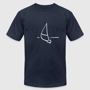 Sailboat Sailboat - Men's Fine Jersey T-Shirt