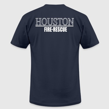 Houston  FIRE RESCUE - Men's Fine Jersey T-Shirt