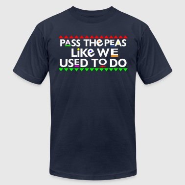 Peas Pass The Peas - Men's Fine Jersey T-Shirt