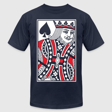 Kings of Spades - King Card - Men's Fine Jersey T-Shirt