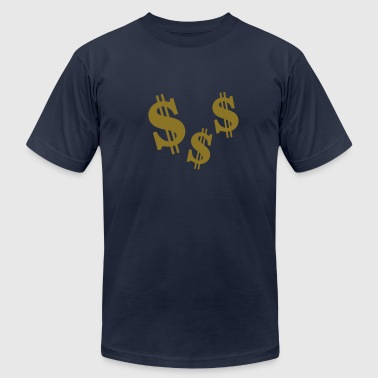 Dollar - Men's Fine Jersey T-Shirt