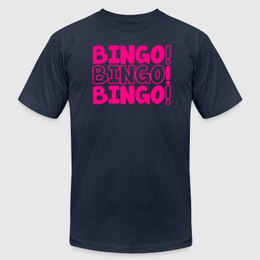 BINGO! BINGO! BINGO! party shirt - Men's Fine Jersey T-Shirt