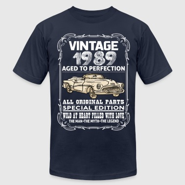 VINTAGE 1989-AGED TO PERFECTION - Men's Fine Jersey T-Shirt