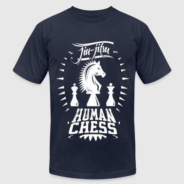 Jiu Jitsu Human Chess - Men's Fine Jersey T-Shirt