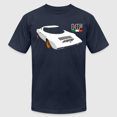 stratos rally - Men's Fine Jersey T-Shirt