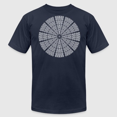 Astrodome Ceiling - Men's Fine Jersey T-Shirt