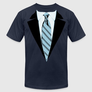 Suit and Tie Tee, Coat and Tie T-shirt - Men's Fine Jersey T-Shirt