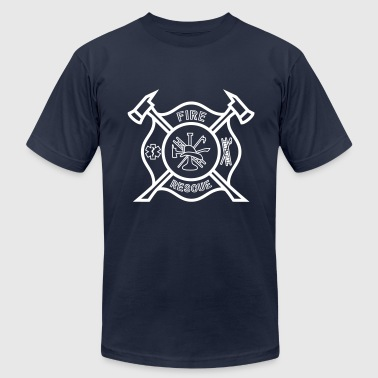 Fire Rescue - Men's Fine Jersey T-Shirt