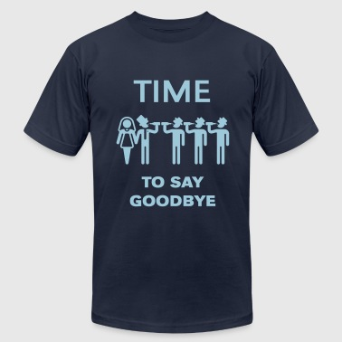 Time To Say Goodbye (Drinking Team Groom) - Men's Fine Jersey T-Shirt