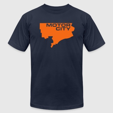 Motor City - Men's Fine Jersey T-Shirt