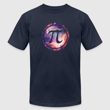 PI - Universum / Space / Galaxy  Nerd & Geek Style - Men's Fine Jersey T-Shirt