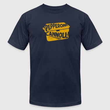 PEPPERONI CANNOLI - Men's Fine Jersey T-Shirt