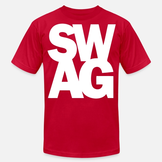 Swag T-Shirts - SWAG - stayflyclothing.com - Men's Jersey T-Shirt red