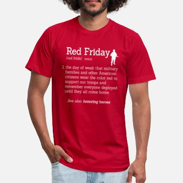 Friday Red Friday Honor Heroes Definition Soldier - Unisex Jersey T-Shirt
