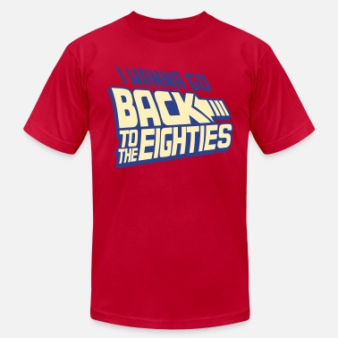 Back To The Future Back To The Eighties - Men's Jersey T-Shirt