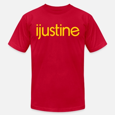 Ijustine Merch ijustine  - Men's Fine Jersey T-Shirt