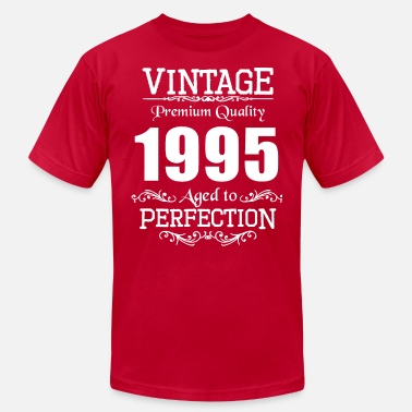 1995 Premium Quality Vintage Premium Quality 1995 Aged To Perfection - Men's  Jersey T-Shirt
