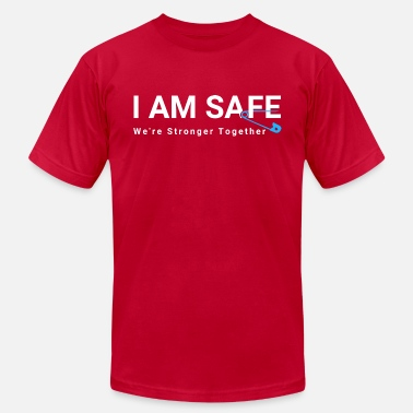 Affirm I AM SAFE Affirmation - Men's  Jersey T-Shirt