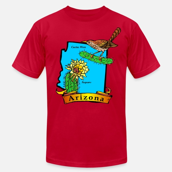 Arizona T-Shirts - Arizona - Unisex Jersey T-Shirt red