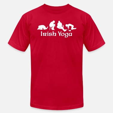 Drinking Irish Yoga - Unisex Jersey T-Shirt