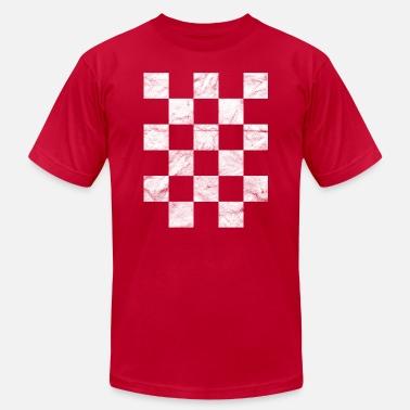 c65874d4c Croatian Soccer Croatia Hrvatska T-Shirt National Flag Kockasti - Men  39 s