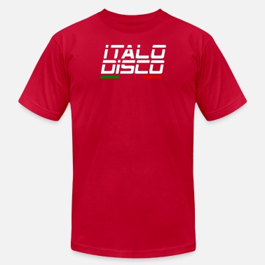 Italo Retro Italo Disco - Men's  Jersey T-Shirt
