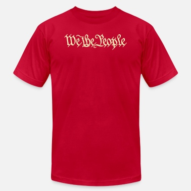 Freedom We the People US Constitution - Unisex Jersey T-Shirt