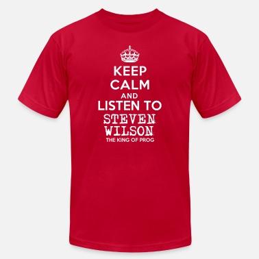 2302ee5e48c1c Steven Wilson Keep calm and listen to Steven Wilson - Men  39 s Jersey