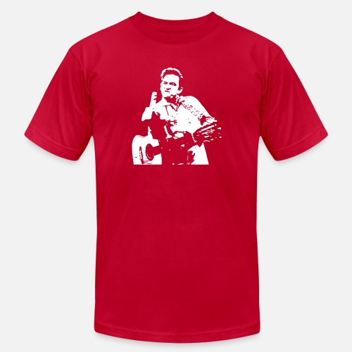 3c02d7a6 Cash T-Shirts - Johnny Cash - Men's Jersey T-Shirt red. Do you want to edit  the design?
