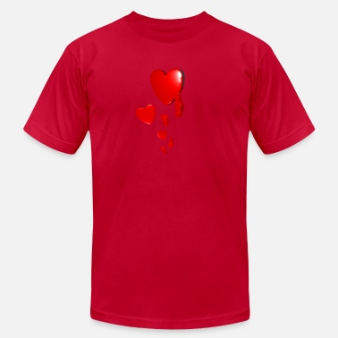 Red Hearts Red Hearts - Men's Jersey T-Shirt