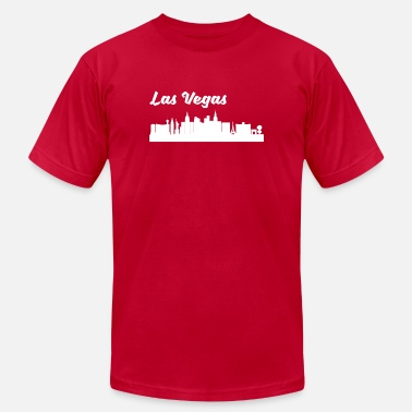 Nv Las Vegas NV Skyline - Men's  Jersey T-Shirt