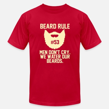 Rule Beard Rules - Men's Fine Jersey T-Shirt